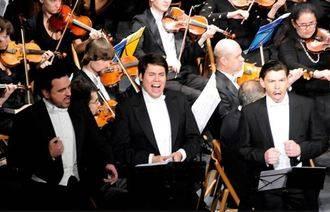 El Teatro Buero Vallejo celebrará su XV Aniversario con los 'nuevos' Tres Tenores