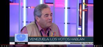 Un alcalde socialista de Albacete defiende el régimen de Maduro durante una entrevista televisiva en Venezuela