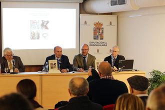 Juan Gabriel Ranera presentó su libro 'El patrimonio artístico de Pastrana durante la Guerra Civil'
