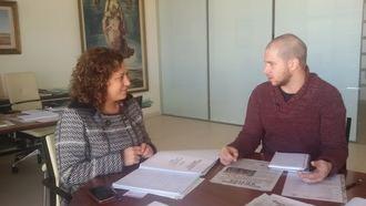 Verónica Renales recibe al representante de Castilla-La Mancha Activa