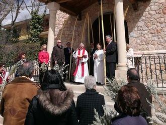 Comienza la Semana Santa yebrana con la procesión del Domingo de Ramos