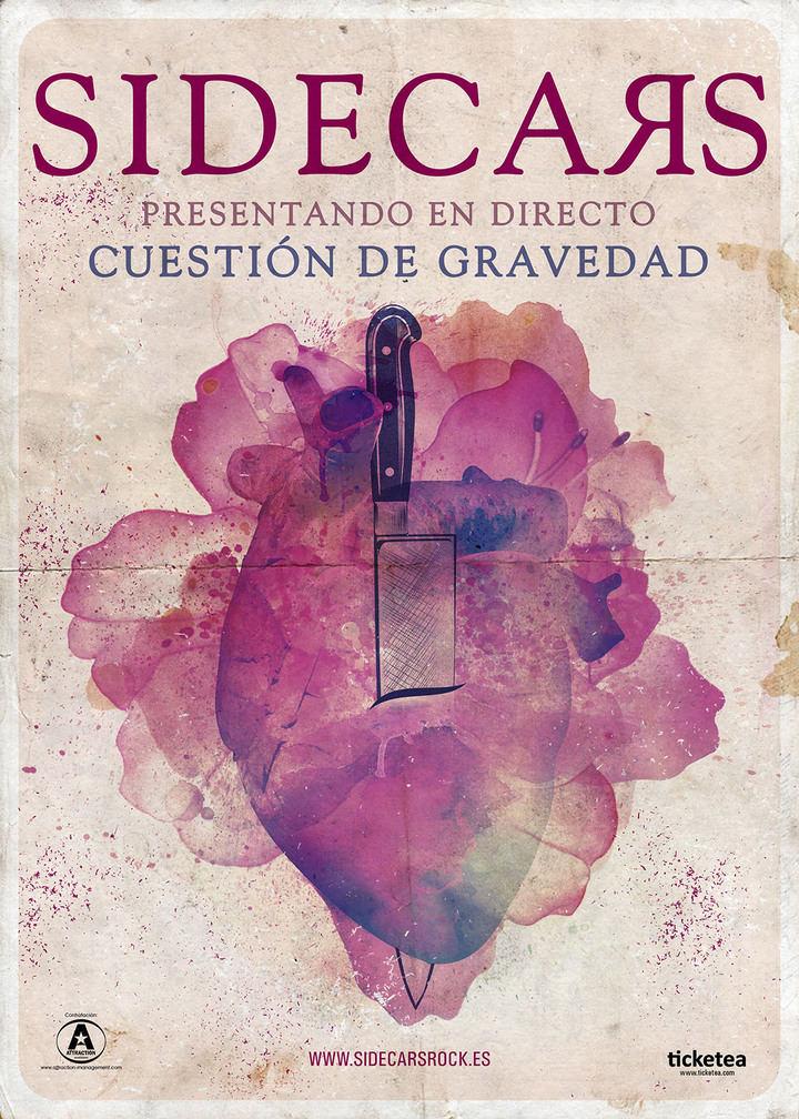 Sidecars cambia la hora de su concierto en Guadalajara: Será el 15 de junio a las 22.00 horas