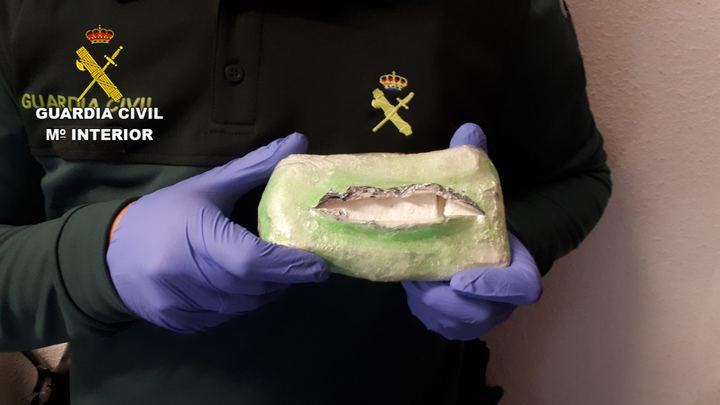 Un detenido en Marachón por huir con su coche con 220 gramos de cocaína
