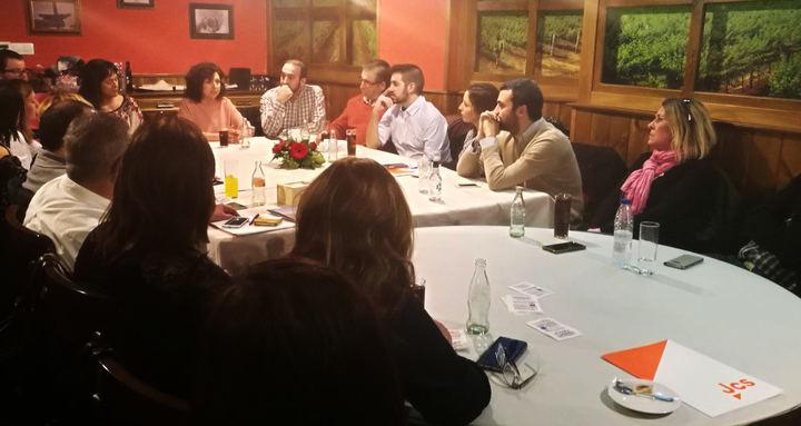 Ciudadanos Guadalajara reúne a cargos públicos y afiliados para debatir sobre la prisión permanente revisable