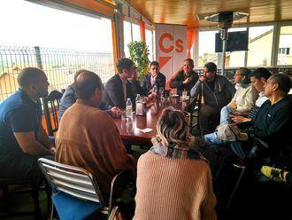 Ciudadanos de Uceda comienza a andar con un café informativo sobre política municipal