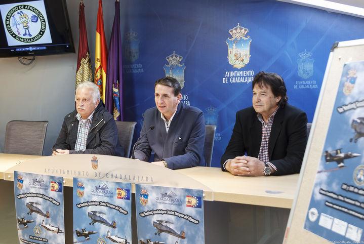 Los mejores pilotos y aviones de aeromodelismo de España se darán cita en Guadalajara el 28 y 29 de abril