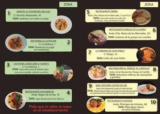 Alovera 'degustará' su II Ruta de la Tapa de Invierno del 19 al 21 de enero
