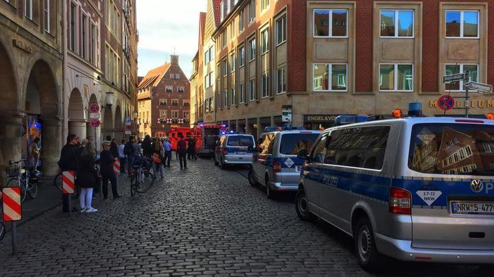 """Un atropello masivo en Münster, Alemania, deja """"varios muertos"""" y al menos 30 heridos"""