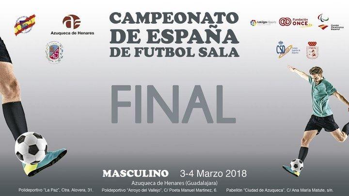 Azuqueca acoge este fin de semana el Campeonato de España de Fútbol Sala para Sordos