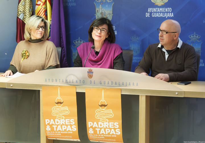 Un total de 83 establecimientos de Guadalajara participan en la campaña 'Padres y Tapas'