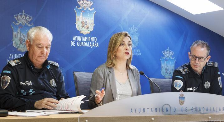 La Policía Local de Guadalajara realizó 132.392 servicios durante 2017