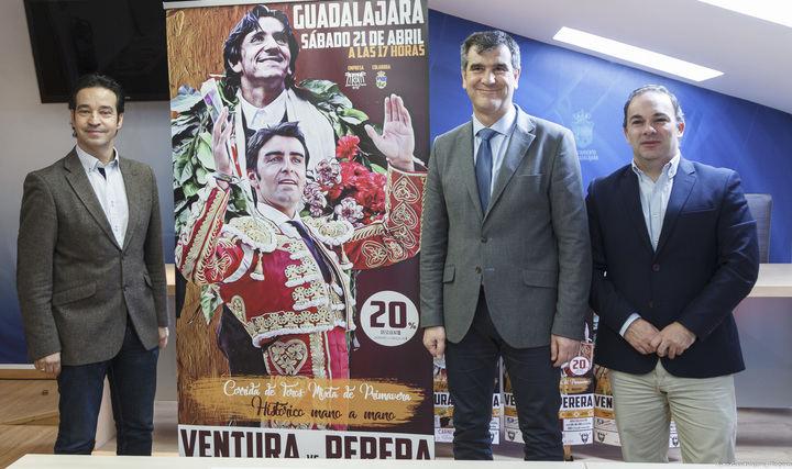 Ventura y Perera, mano a mano histórico en la Feria de Primavera de Guadalajara