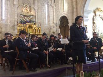 La Banda de Música de Brihuega adelanta la Semana Santa con un concierto de marchas procesionales en homenaje a sus 150 años