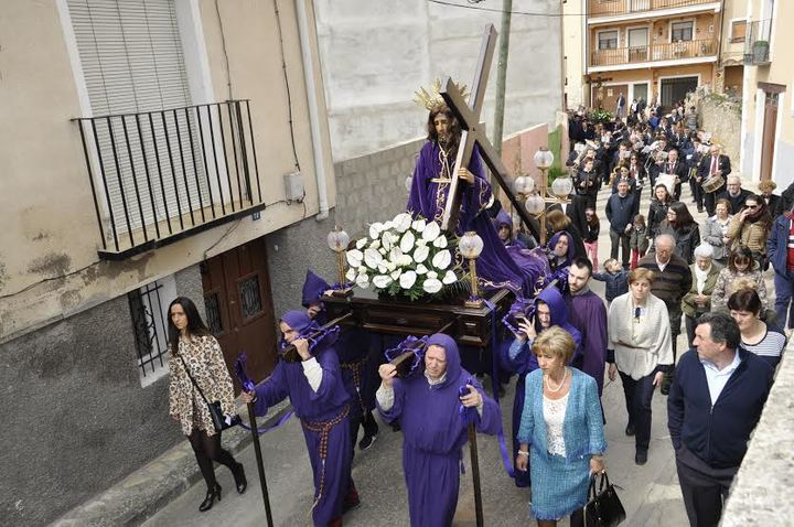 Maxima expresión de religiosidad en la Semana Santa de Brihuega