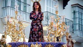 Una broma de muy, muy mal gusto : Usan una fotografía del Cautivo de Sanlúcar para burlarse de la alcaldesa de Ciudad Real