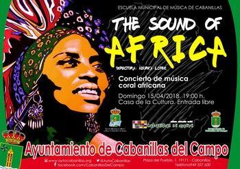 Sonidos de África el domingo 15 de abril en Cabanillas