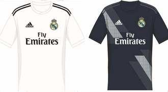 Se filtran las posibles camisetas del Real Madrid para la temporada 18/19