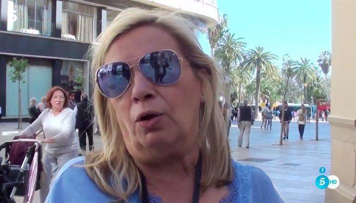 LECTURAS Carmen Borrego, enfadada con 'Sálvame'