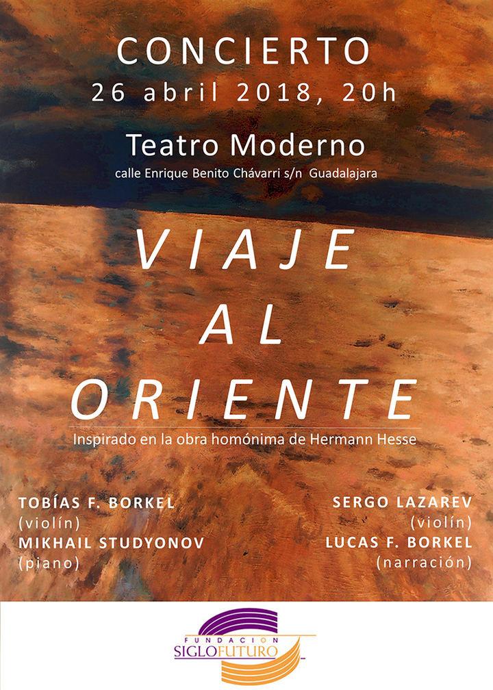 Música y ciencia en el Teatro Moderno, el jueves, 26 de abril