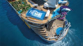El crucero más grande el mundo llega a Málaga