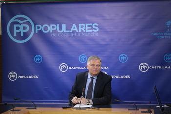 """Cañizares lamenta que Page y Podemos """"sitúen a Castilla-La Mancha a la cola del crecimiento, el empleo y la prestación de servicios"""""""