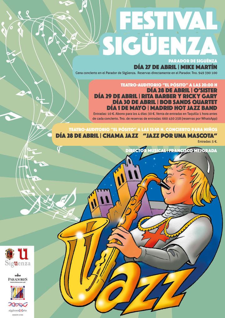 Puente de mayo pasado por jazz en Sigüenza