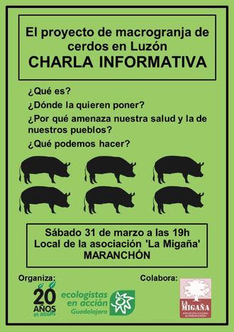Nace la Plataforma 'Stop Macrogranjas' en la Comarca de Molina de Aragón