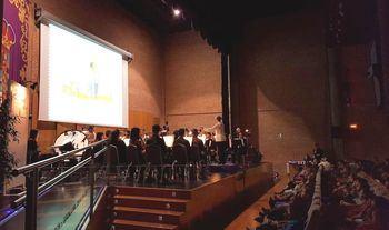 Cerca de 900 escolares en la cuarta edición de los conciertos pedagógicos de la Banda de Música de la Diputación