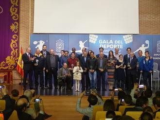 La Diputación de Guadalajara reconoce a los mejores deportistas y personas implicadas en la promoción del deporte en la provincia
