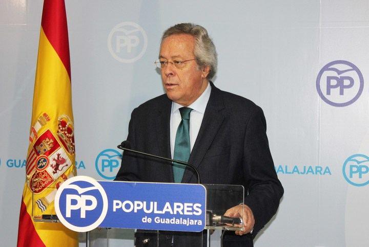 """Aguirre exige a Page que reclame """"por cualquier vía"""" al gobierno socialista de Andalucía los 15 millones que se debe a la Obra Social de la extinta Caja de Guadalajara"""