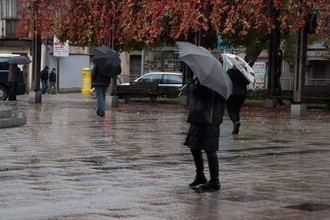 Ligero descenso de las temperaturas este lunes en Guadalajara donde predominarán los chubascos y los cielos nublados