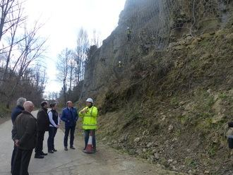 Diputación actuará, por primera vez, en 11 puntos para proteger varios taludes de carreteras provinciales