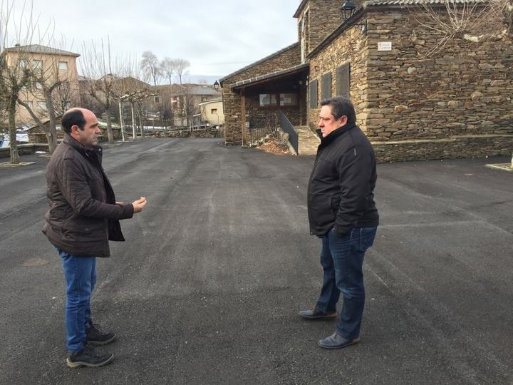Diputación lleva a cabo obras de pavimentación y renovación de redes en Semillas, Zarzuela de Jadraque y Villares de Jadraque