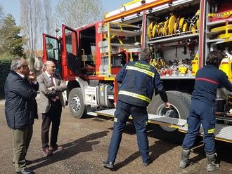 La Diputación compra un nuevo camión de bomberos para el Parque de Sigüenza