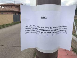 El PP de Cabanillas denuncia que el Ayuntamiento volverá a utilizar glifosato en las calles, incumpliendo su promesa electoral