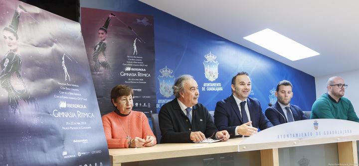 3.000 gimnastas se dan cita en Guadalajara desde el miércoles para participar en cuatro importantes competiciones