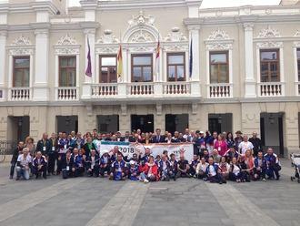 El alcalde de Guadalajara preside la inauguración de los Juegos Nacionales de Trasplantados