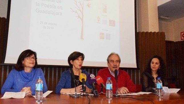Guadalajara organiza hasta 40 actos para sacar la poesía a la calle