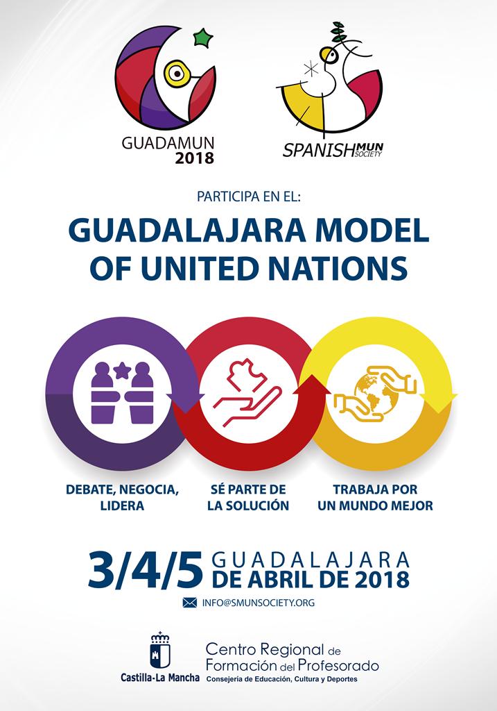 """El CEIP """"Río Tajo"""" acogerá a más de 150 estudiantes en el I Modelo de Naciones Unidas GUADAMUN"""