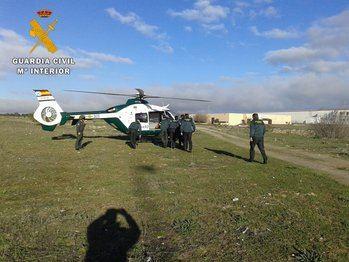 La Guardia Civil rescata con vida en Seseña a una anciana desaparecida de alto riesgo