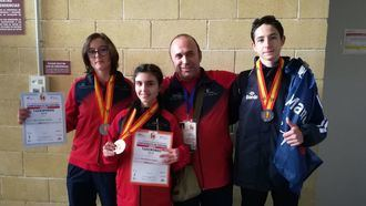 El Club Taekwondo Cabanillas destaca en el Campeonato de España Junior de Taekwondo