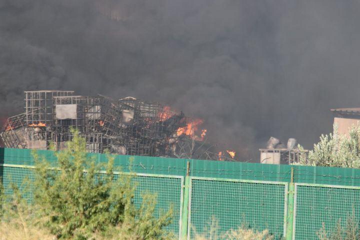 La zona del incendio de Chiloeches sigue sin descontaminarse y con toneladas de residuos peligrosos sin control