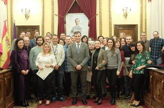 El alcalde destaca el éxito de los Espacios Coworking que organiza el Ayuntamiento en colaboración con la EOI