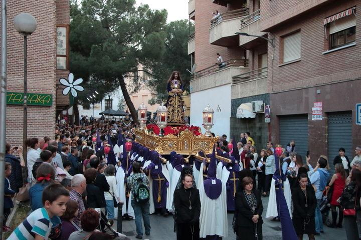 Procesión de Nuestro Padre Jesús Nazareno del Jueves Santo. Foto : www.eduardobonillaruiz.com