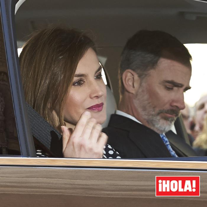 "¡HOLA! La reina Letizia ""desolada"" después del video de la misa"