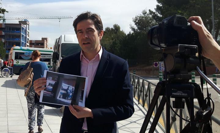 """Lorenzo Robisco denuncia """"las graves deficiencias del transporte sanitario en la provincia de Guadalajara"""""""