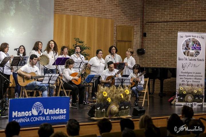 Manos Unidas Guadalajara y el Coro Rondalla Virgen de la Peña de Brihuega, unidos por una buena causa