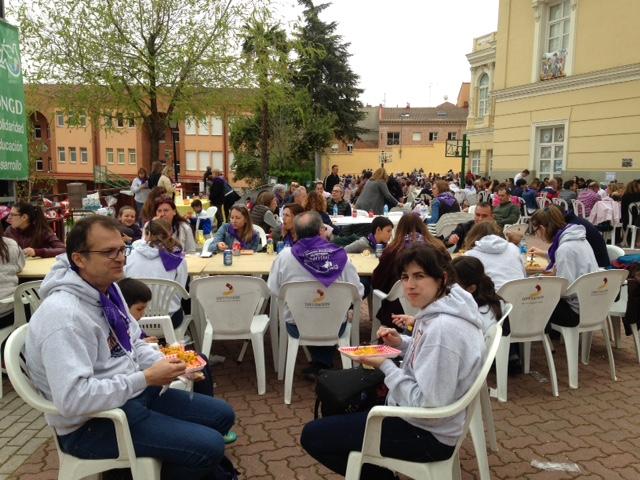 Más de 600 personas salen a la calle en la XX Marcha Solidaria de Maristas