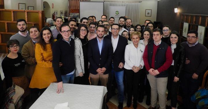 Manuel Sepúlveda elegido presidente local de Nuevas Generaciones de Campo de Criptana