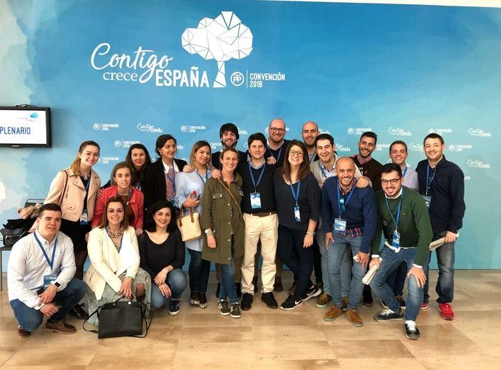 NNGG CLM presente en la Convención Popular de Sevilla
